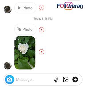 دیدن پیام های ناپدید شونده در چت دایرکت اینستاگرام