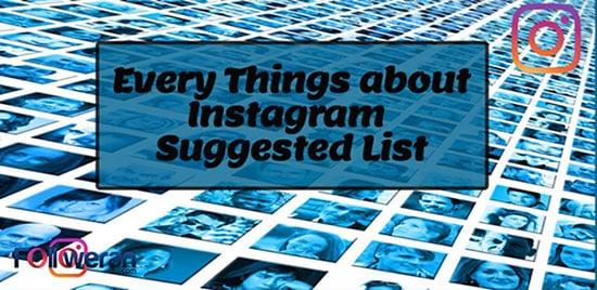 قرار گرفتن در لیست پیشنهادی اینستاگرام