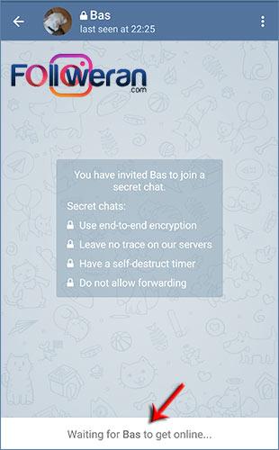 راه اندازی سکرت چت در تلگرام