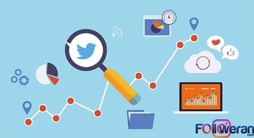 بررسی رقبا در توییتر