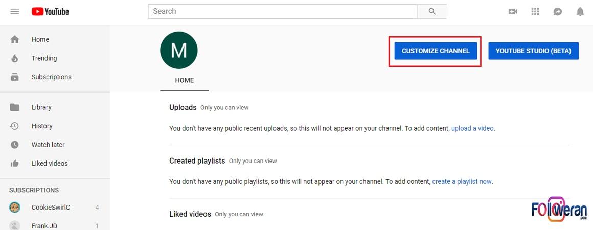 سازماندهی ویدیو ها و ساخت کانال تجاری یوتیوب