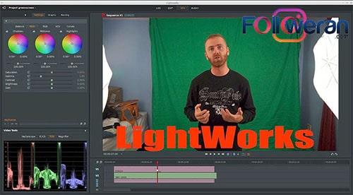 بهترین برنامه ساخت کلیپ برای اینستاگرام با اپلیکیشن Lightworks1